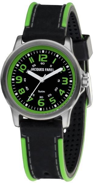 Jacques Farel Jugenduhr schwarz/grün SST111