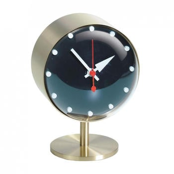Vitra Night Clock Gold