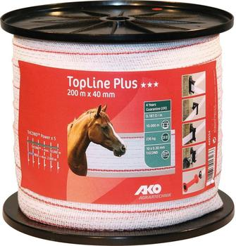 AKO TopLine plus Weidezaunband 200 m 40 mm (449554)