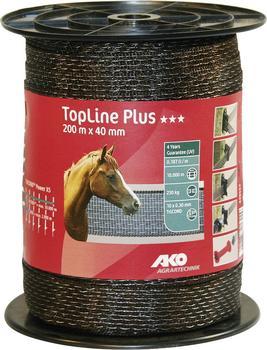 AKO TopLine plus Weidezaunband 200 m 40 mm (449553)