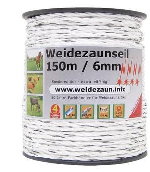 VOSS.farming Weidezaunseil 450 m x 6 mm 3x0,20 Kupfer + 6x0,20 Niro (44611)