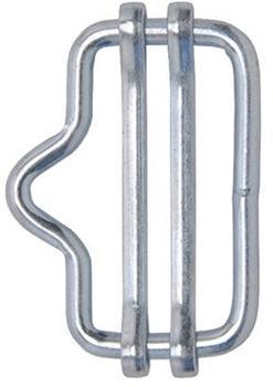 VOSS.farming 5x Bandverbinder bis 20mm mit Nase verzinkt