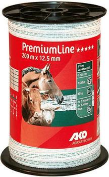 AKO PremiumLine Weidezaunband 200 m 12,5 mm (441533)