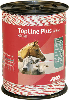 AKO TopLine plus Weidezaunseil 6 mm x 200 m (449532)