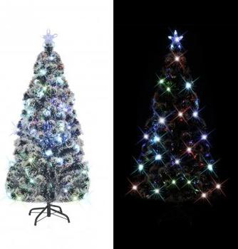 VidaXL Künstlicher Weihnachtsbaum LED-Licht 150cm