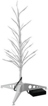 Europalms Design-Baum mit LED 155cm weiß