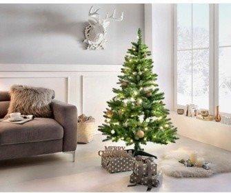 Best Season Weihnachtsbaum mit LED-Beleuchtung 180cm grün