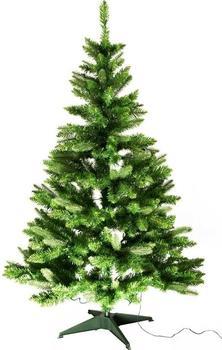 Best Season Weihnachtsbaum mit LED-Beleuchtung 150cm grün