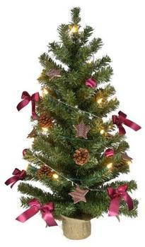 Spetebo Weihnachtsbaum geschmückt 75cm