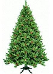 Tropal Weihnachtsbaum mit Tannenzapfen 240 cm