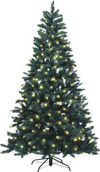 Xenotec Weihnachtstanne 210cm mit Beleuchtung (PE-BM210)
