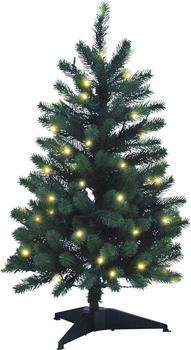 Xenotec Weihnachtstanne 85cm mit Beleuchtung (PE-BM85)