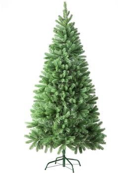 TecTake Künstlicher Weihnachtsbaum Tannenbaum 180cm grün