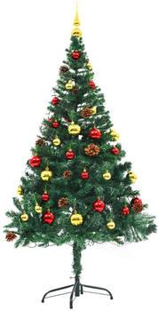 VidaXL Künstlicher Weihnachtsbaum geschmückt 150cm (246392)