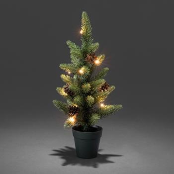 Konstsmide LED Weihnachtsbaum mit Topf 45cm (3780-100)