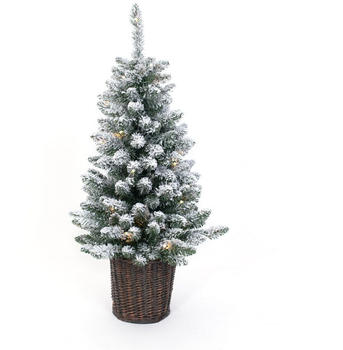 Evergreen Weihnachtsbaum 90cm Kunstschnee LED (PGTV30M2Y10L01)