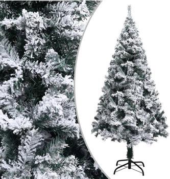 vidaXL Artifical Christmas Tree with Flocked Snow
