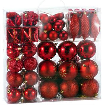 deuba-weihnachtsbaumkugeln-rot-103-tlg-103310