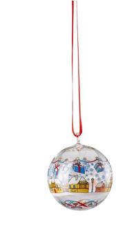 Hutschenreuther Weihnachtsmarkt Glas-Kugel (02253-723054-49707)
