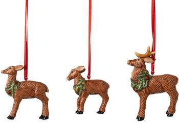 Villeroy & Boch Nostalgic Ornaments Ornamente-Set Hirschfamilie 3-tlg. (1483316688)