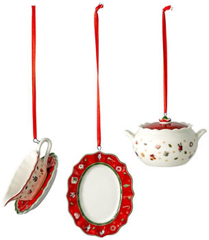 Villeroy & Boch Toy's Delight Decoration Ornamente-Set Servierteile 3-tlg. (1486596666)