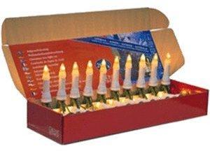 Konstsmide Weihnachtsbaumkette außen (16 Kerzen)