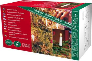 Konstsmide Weihnachtsbaumkette (25 Kerzen)