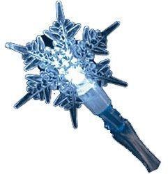 Konstsmide Schneeflocken LED-Kette 20er