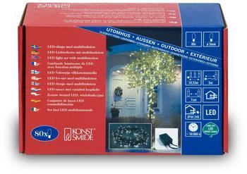 Konstsmide Micro-LED Kette 80er (3630-110)