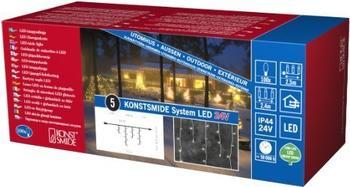 Konstsmide LED-Systemerweiterung Lichterkette 100er Eisregen (4611-103)