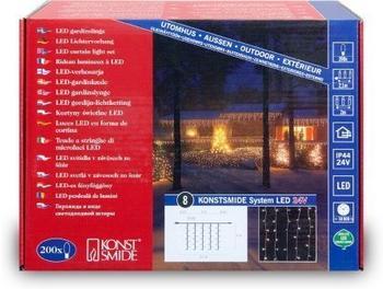 Konstsmide LED System Erweiterung Lichtervorhang 4624-103