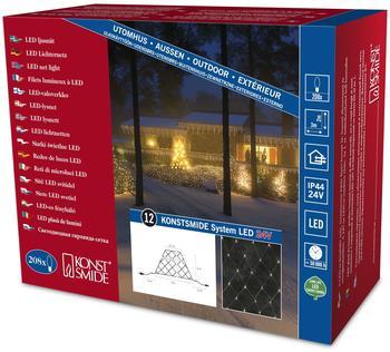 Konstsmide LED System Erweiterung Lichternetz (200 Dioden) 4623-103