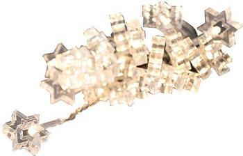 Konstsmide LED-Dekolichterkette klare Sterne 24er warmweiß (4090-103)