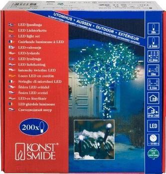 Konstsmide Micro LED Lichterkette weiß (3613-200)