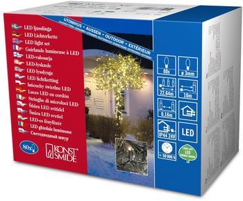 Konstsmide Micro-LED-Lichterkette 80er warmweiß (3611-110)