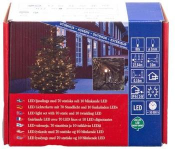 Konstsmide Micro LED Lichterkette Funkeleffekt (3611-140)