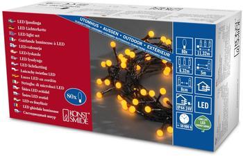 Konstsmide LED-Lichterkette 80er 5m gelb (3691-007)