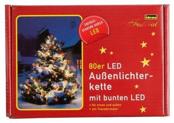 Idena LED-Lichterkette 80 bunt (8325059)