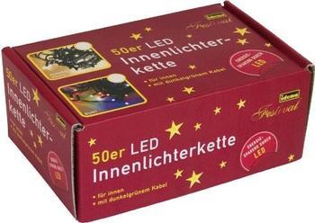 Idena LED-Lichterkette 50er warmweiß (8325054)