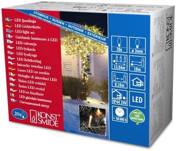 Konstsmide Micro-LED-Lichterkette 20er warmweiß (3609-103)