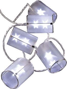 Hellum LED-Lichterkette Lampions 10er (564181)
