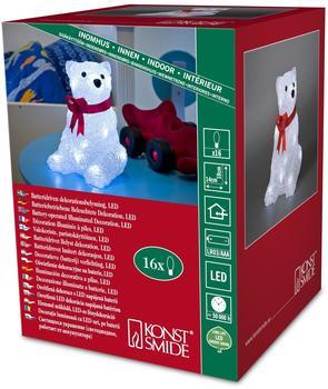 Konstsmide LED-Acryl-Eisbär 16er kaltweiß (6159-203)