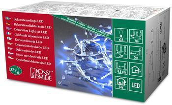 Konstsmide Perlen-Lichterkette 32er blau (3172-403)
