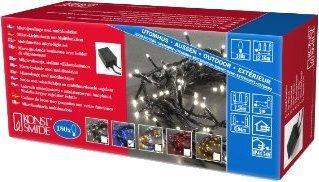Konstsmide Microlight Kette 180er blau (2084-400)