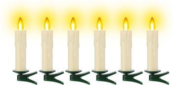 TV Das Original kabelloses Christbaumkerzen Kerzenzauber Ergänzungsset (6 Kerzen)