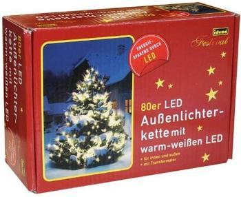 Idena LED-Lichterkette warmweiß (8325058)