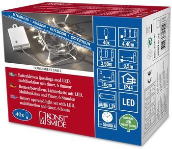 Konstsmide LED Kette mit Schalter (3724-103)