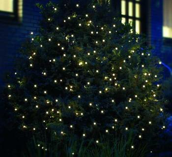 FHS LED Lichternetz warmweiß 160 Lichter (2848)