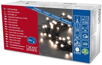 Konstsmide LED Lichterkette 80er 5m warmweiß (3691-107)
