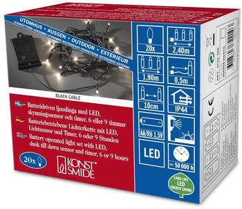 Konstsmide LED Kette mit an/aus Schalter (3722-100)